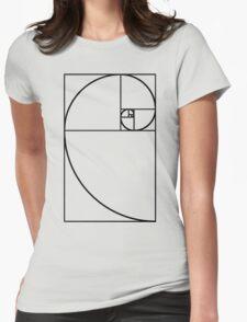 Golden Ratio - Transparent Womens Fitted T-Shirt