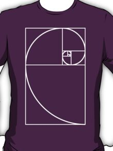 Golden Ratio - White  T-Shirt
