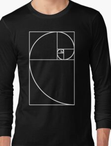 Golden Ratio - White  Long Sleeve T-Shirt