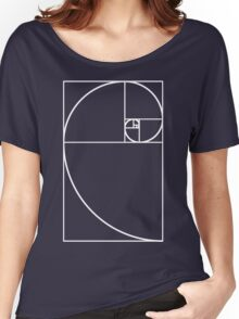 Golden Ratio - White  Women's Relaxed Fit T-Shirt