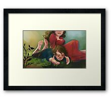 Bilbo and Belladonna Framed Print