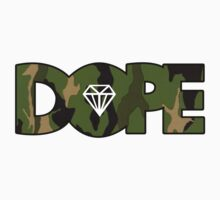 Woodland Camo Pattern Diamond Dope by cerenimo
