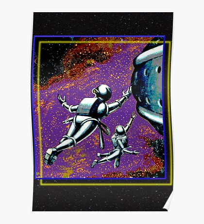 Galactic Patrol Poster