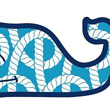 Whale with Rope Pattern by itslit