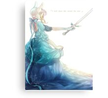 Fionna's Sword Canvas Print