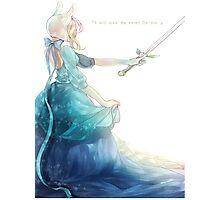 Fionna's Sword Photographic Print