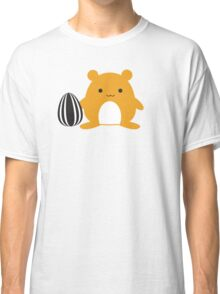 Hamster with Snack Classic T-Shirt