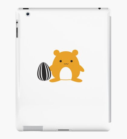 Hamster with Snack iPad Case/Skin