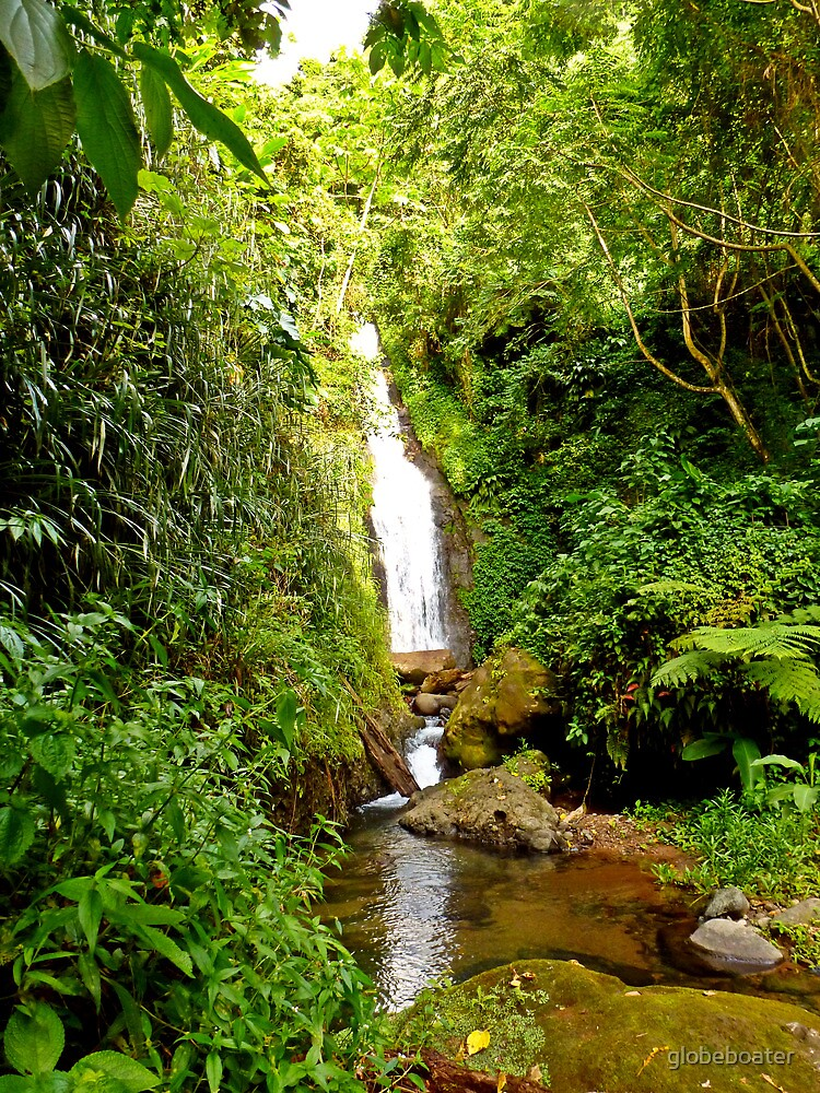 Fontainbleu Waterfall by globeboater