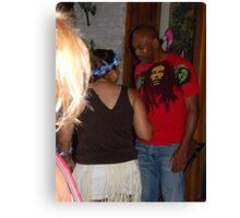 Is That Bob Marley? Canvas Print