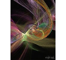 Fractal in Oil Photographic Print