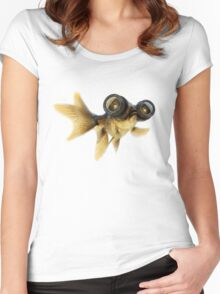 Lens eyed fish Women's Fitted Scoop T-Shirt