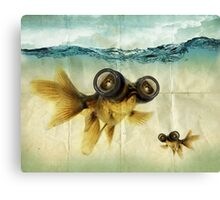 Lens eyed fish Canvas Print
