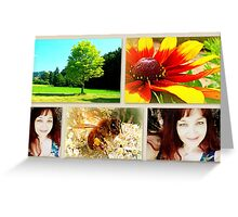 Welcome to my world Greeting Card