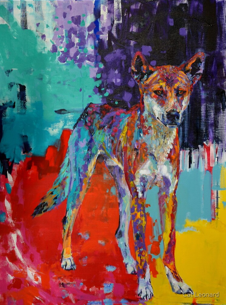 'where there be no rules there be boundaries' (Australian Dingo) by Cat Leonard