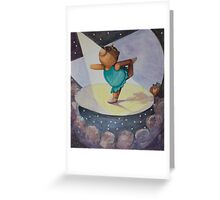 Ballet Bear Greeting Card