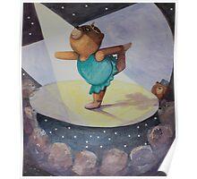 Ballet Bear Poster
