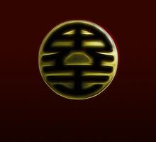 Dragonball - King Kai Symbol by Snowballs