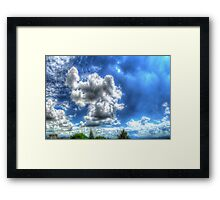©HCS Rain Clouds J19 Framed Print