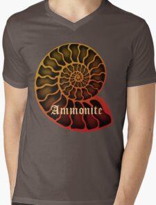 Ammonite Mens V-Neck T-Shirt