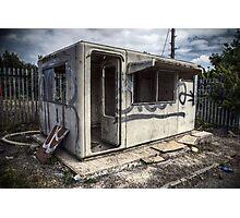 Security Hut Photographic Print