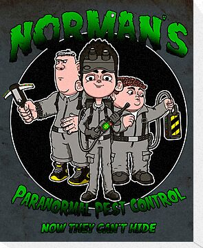 Norman's Paranormal pest control. by J.C. Maziu