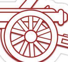 Gunner arsenal Sticker