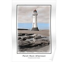Perch Rock Afternoon Poster