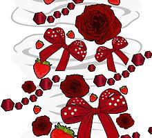 Strawberry Diamond Decor by Adamzworld