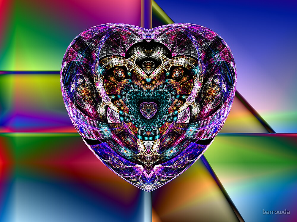 Tut63#6:  A Heart of Many Colors (G1378) by barrowda