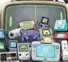 Video games family Sticker