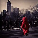 Lonely Elmo of Central Park New York City by Limited Apparel