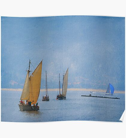 Time for sailing Poster