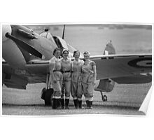 Spitfire Girls Poster
