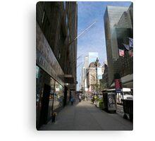 NYC Street Canvas Print