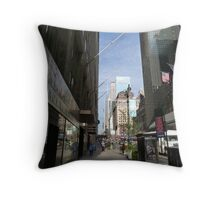 NYC Street Throw Pillow