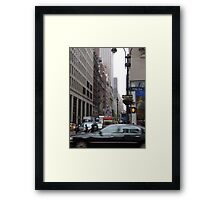 Fifth Avenue Framed Print