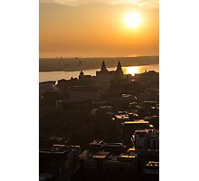 Liverpool from the top of the cathedral Photographic Print