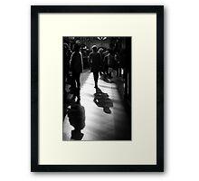 Arcade Walk Framed Print