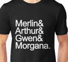 Merlin Fab Four Unisex T-Shirt