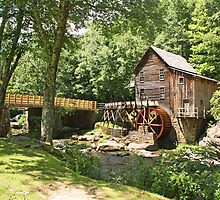 The Glade Creek Grist Mill by Jack Ryan
