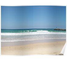 Calm Beach Poster