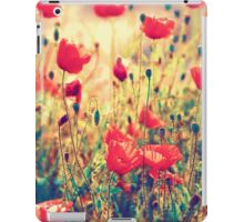 Morning Light - Poppy Field iPad Case/Skin