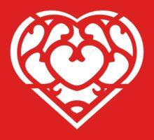Zelda Skyward Sword Heart (white) One Piece - Long Sleeve