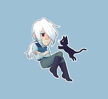 Al and his cat Unisex T-Shirt