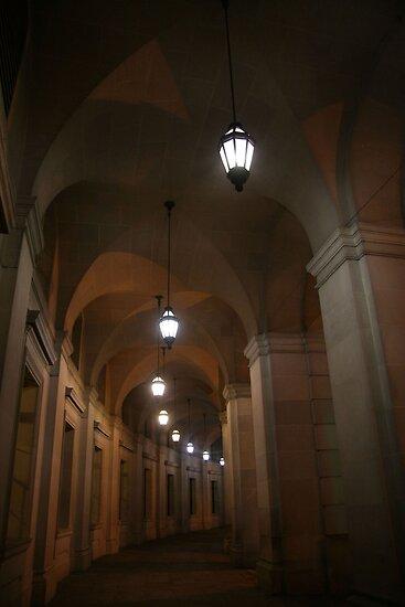 A Dark Corridor by Cora Wandel