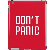 Don't Panic iPad Case/Skin