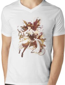 Kantai Collection [ Kongou! ] Mens V-Neck T-Shirt