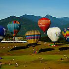 Taitung Hot Air Balloon Festival by zhao wei koh