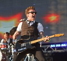 Mcfly at Queen Elizabeth Olympic Park by Keith Larby